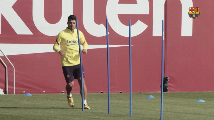 El Barça regresa a los entrenamientos