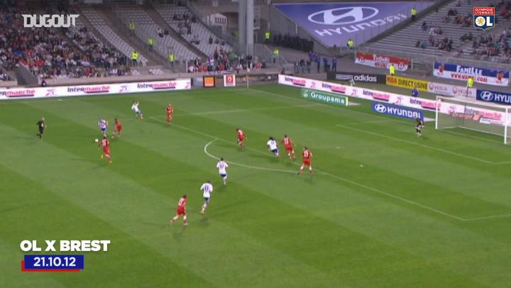 OL's top five goals vs Brest