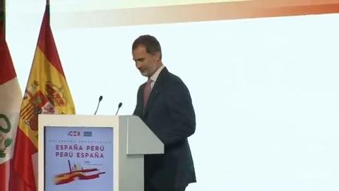 Rey de España destaca crecimiento económico de Perú