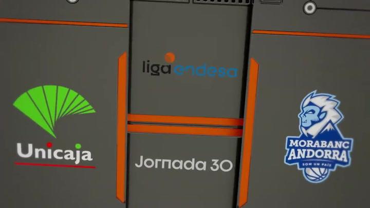 The summary of Unicaja - MoraBanc Andorra (85-92)