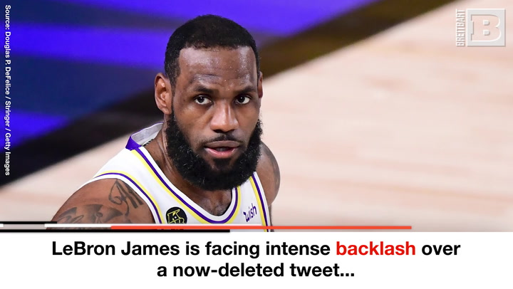 LeBron James Under Heat for Now-Deleted Tweet Targeting Columbus Officer