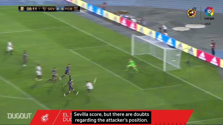Behind the scenes of VAR's debut in Spanish football