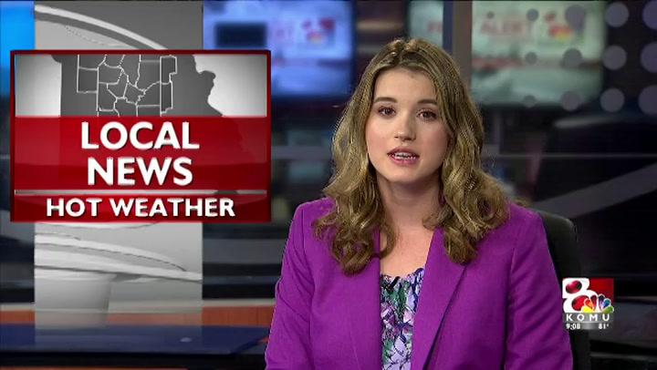 Hot Temperatures Still in Mid-Missouri