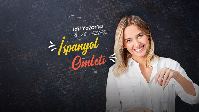 İdil Yazar'la Hızlı ve Lezzetli - Omlet