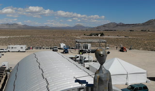 Area 51 Basecamp readies for Friday launch in Hiko – VIDEO