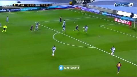 Real Sociedad 1-1 Barcelona (Copa del rey)