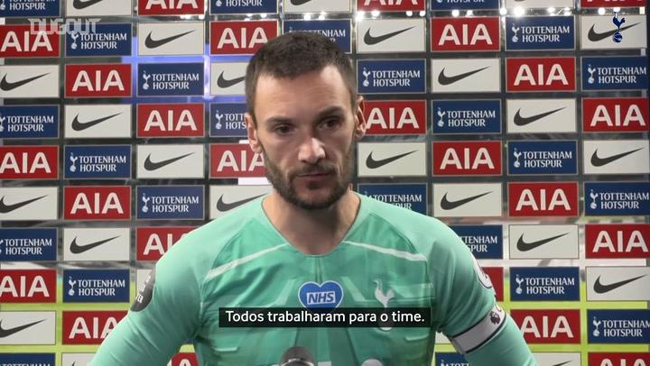 Lloris lamenta temporada irregular do Tottenham
