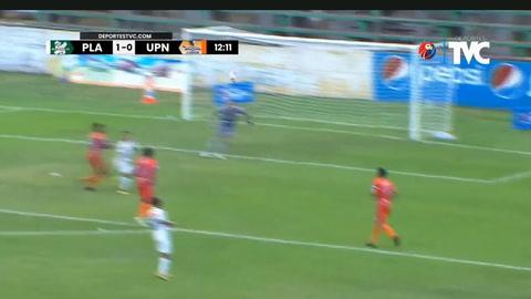 El gol Ángel Velázquez en la derrota de Platense ante Lobos