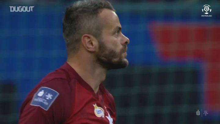 Cracovia's derby win against Wisla Krakow
