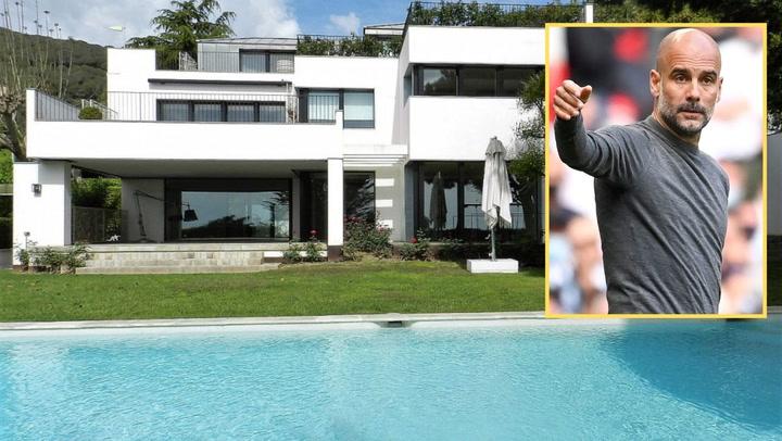 La que fue la casa de Rafa Márquez en Barcelona podría ser la nueva propiedad de Pep Guardiola
