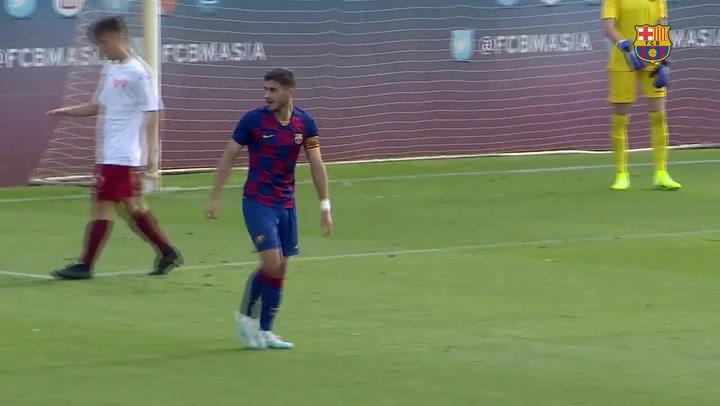 Resumen del Barça Juvenil A contra el San Francisco (2-0).mp4