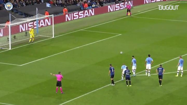 Man City hit five past Atalanta