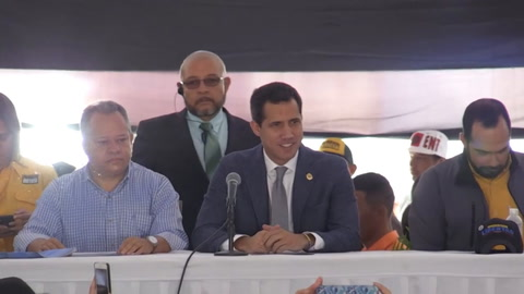 Guaidó: reuniones con EEUU son para sacar a Maduro