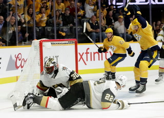 Golden Edge: Knights Fall To Predators