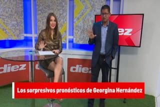 ¡Increíble! Los sorprendentes pronósticos que acertó Georgina Hernández en Diez TV