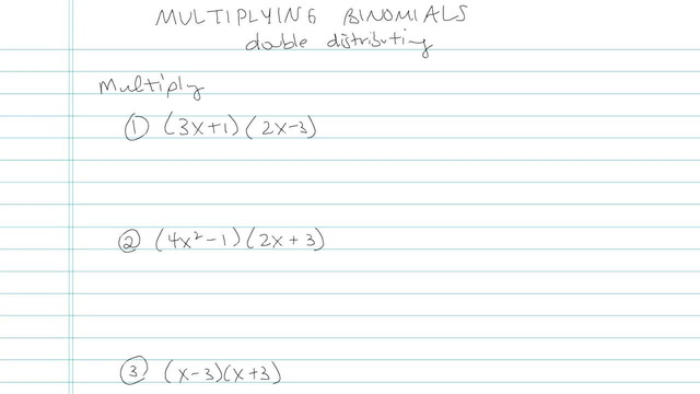 Multiplying Monomials and/or Binomials and FOIL - Problem 5
