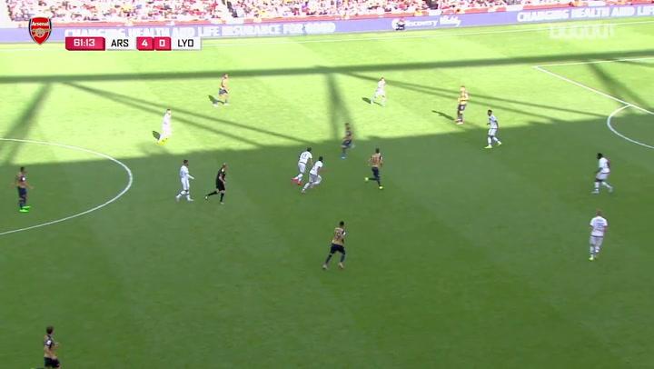 Mesut Özil'in Lyon'a Attığı Gol