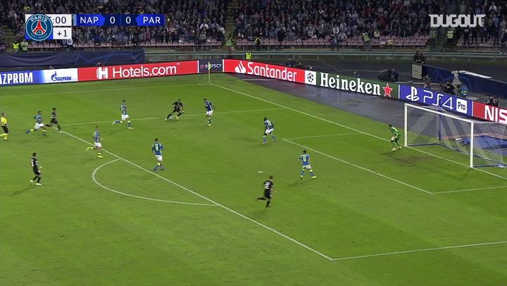Los goles de Juan Bernat en la Champions League con el PSG