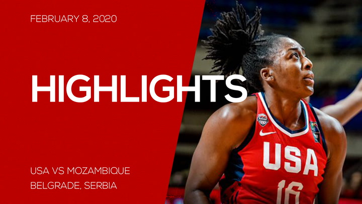 Highlights: USA 124, Mozambique 49