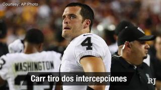 Nación Vegas: Los Raiders pierden 27-10 en contra los Redskins