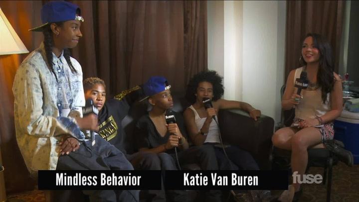 Interviews: What Did Justin Bieber Teach Mindless Behavior on Tour?