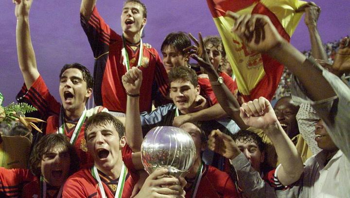 Se cumplen 20 años del triunfo de España en el Mundial Sub-20 de Nigeria 1999