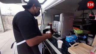CoffeeGrafhy, el emprendimiento que lleva café en cuatro ruedas a la capital