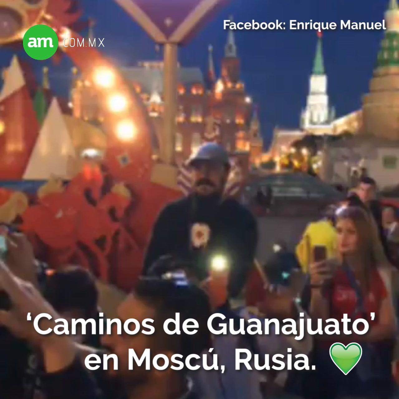 Video: Así se escucha 'Caminos de Guanajuato' en Rusia