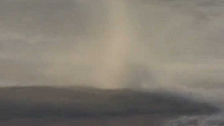 Large dust devil spotted in Canada