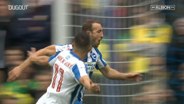 Glenn Murray's hat-trick vs Norwich
