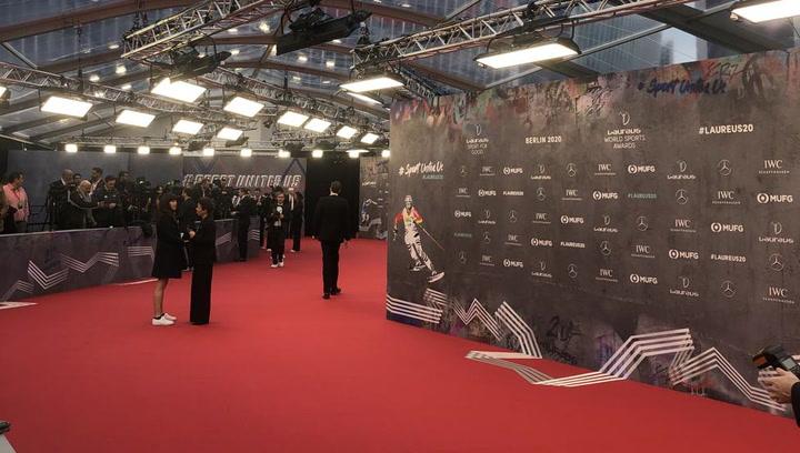 Todo listo para la ceremonia de los premiso Laureus 2020 en Berlín