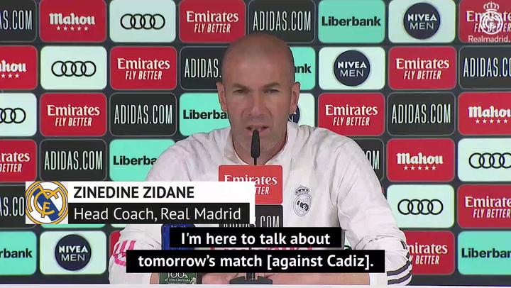Zidane - Florentino Perez must answer Super League questions