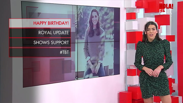 Happy Birthday, Kate! See how The Duchess celebrate her birthday.