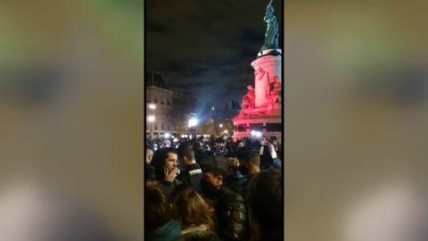 Indignación en Francia por desmantelamiento violento de campamento de migrantes