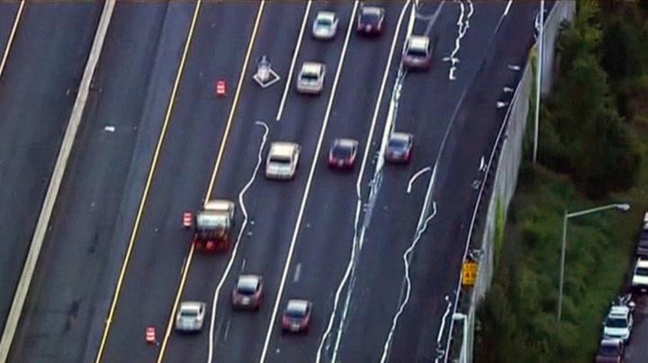 Denne motorveien er helt på villspor