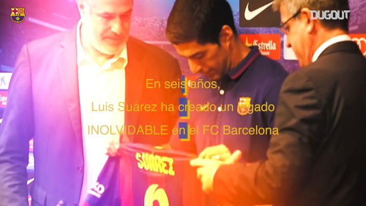 La carrera inolvidable de Luis Suárez