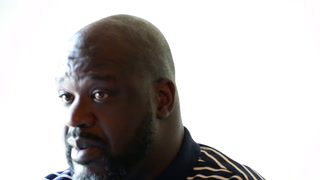 Former NBA player, Shaquille O'Neal, speaks about his new Las Vegas chicken restaurant