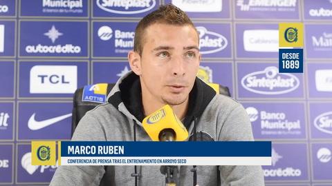 Ruben admitió que puede que haya llegado el final de su etapa en Central