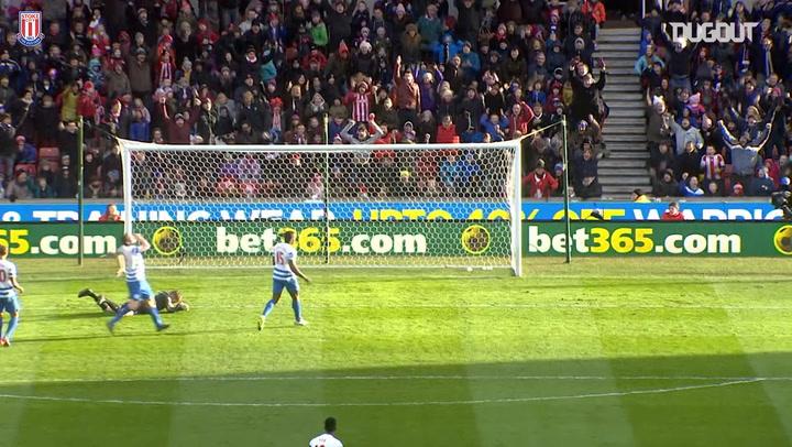 Jonathan Walters' perfect hat-trick vs QPR