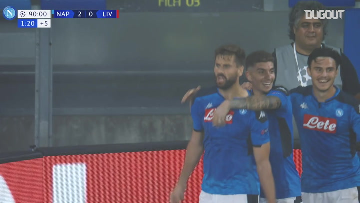 Fernando Llorente's perfect start to life at SSC Napoli