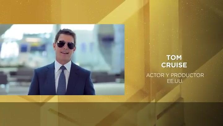 Tom Cruise también participó los Goya con un discurso en español