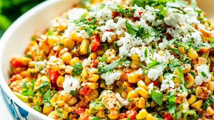 Cold Corn Salad Recipe Mexican