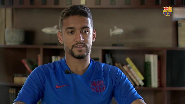 """Matheus, feliz por su debut: """"Esperamos subir a Segunda A"""""""