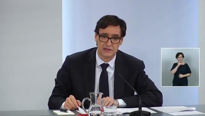 Salvador Illa anuncia que la epidemia esta en fase de control