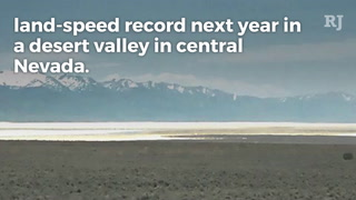 Land-speed record try approved in Nevada