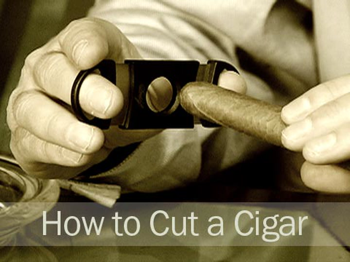 How to Cut a Cigar