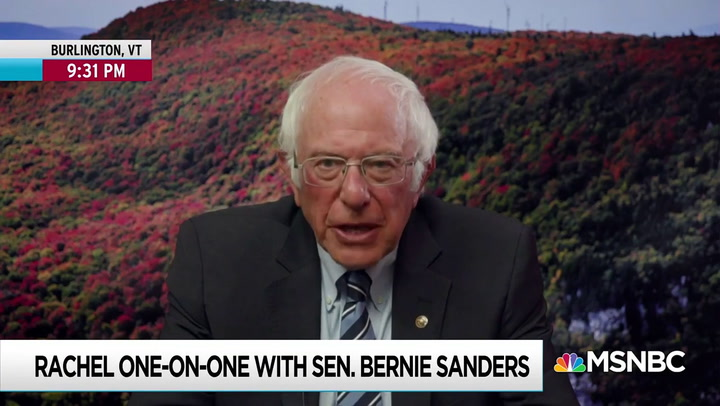 Bernie Sanders: 'I Am Worried' Trump Will Refuse to Leave Office if He Loses the Election