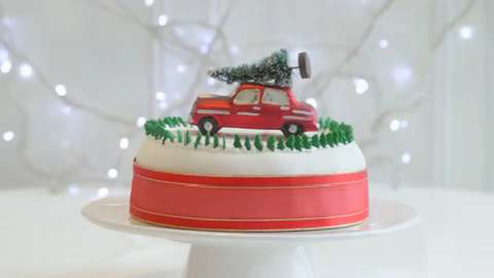 Christmas Cake Ideas.Christmas Cake Decorating Ideas