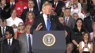 Trump: militares venezolanos