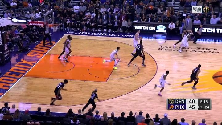 Jamal Murray, jugador destacado de la jornada de la NBA (8/02/2020)